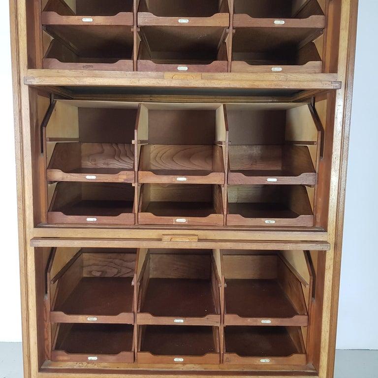 Vintage Haberdashery Cabinet Shop Display For Sale 5