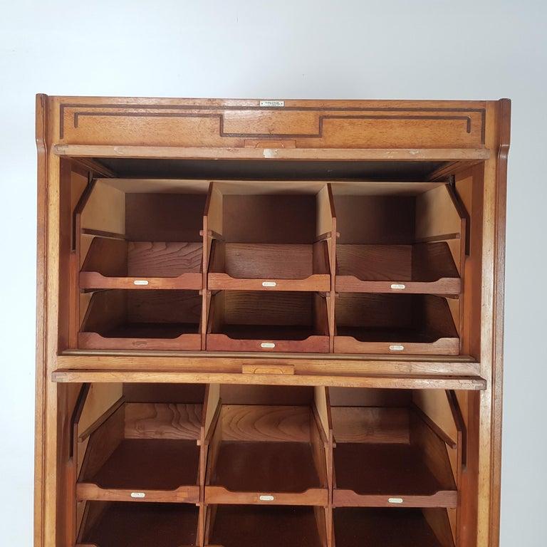 Vintage Haberdashery Cabinet Shop Display For Sale 6