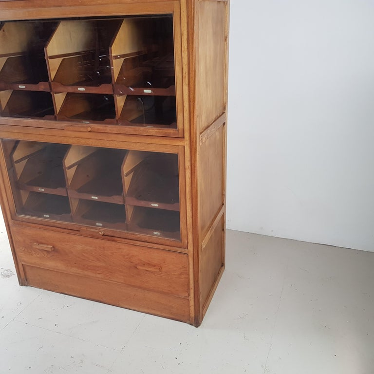 20th Century Vintage Haberdashery Cabinet Shop Display For Sale