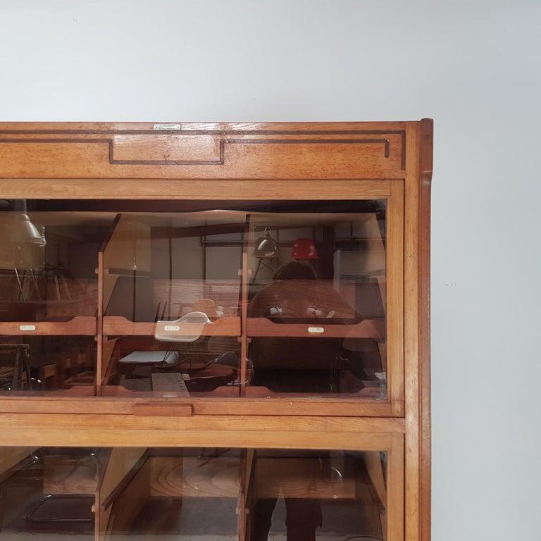 Vintage Haberdashery Cabinet Shop Display For Sale 1