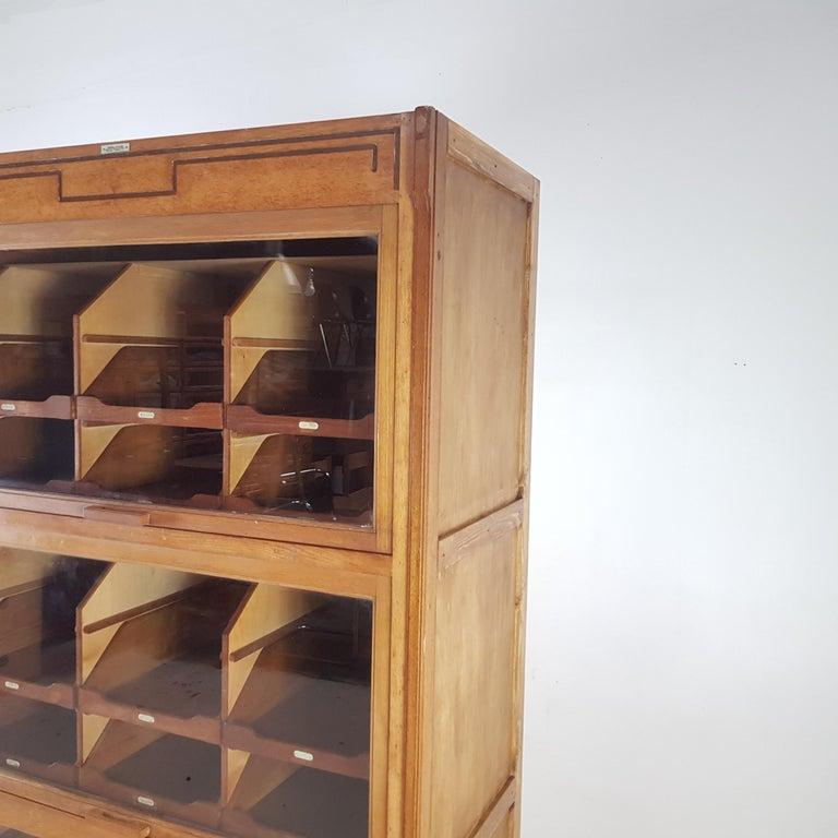 Vintage Haberdashery Cabinet Shop Display For Sale 2