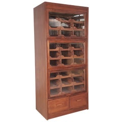 Vintage Haberdashery Cabinet Shop Display