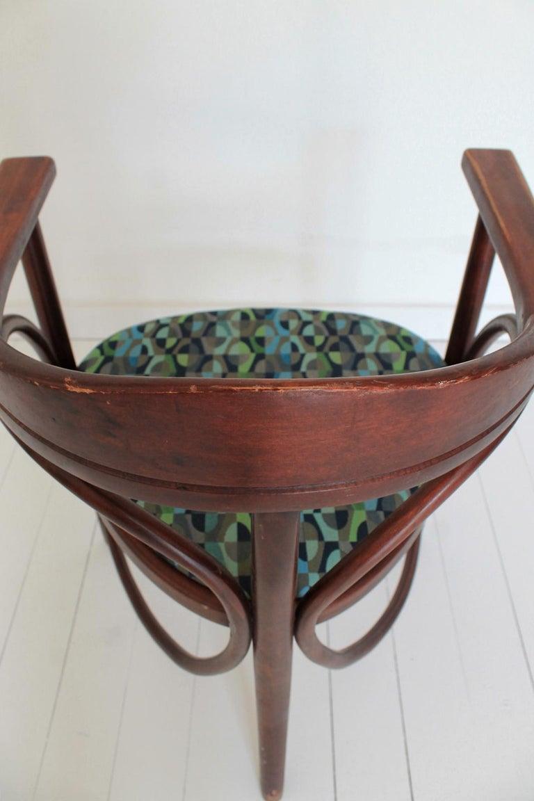 Vintage HajduThonet Desk chair No 81 Rondo 1980 Hungary For Sale 3