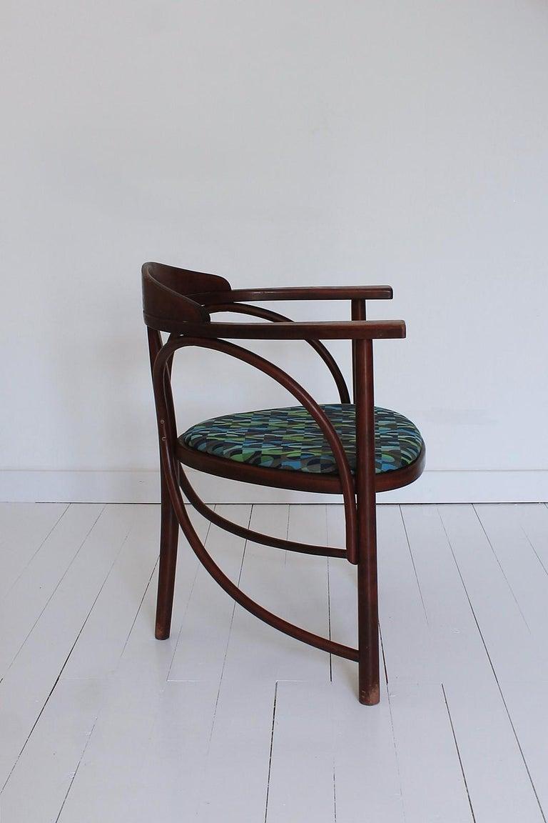 Jugendstil Vintage HajduThonet Desk chair No 81 Rondo 1980 Hungary For Sale