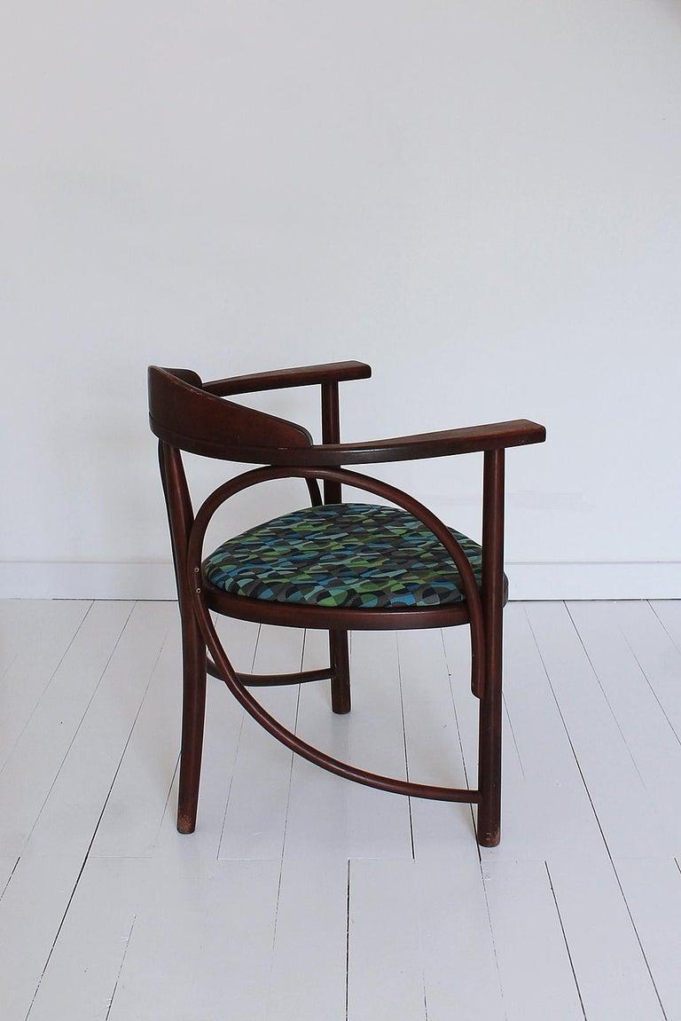 Hungarian Vintage HajduThonet Desk chair No 81 Rondo 1980 Hungary For Sale