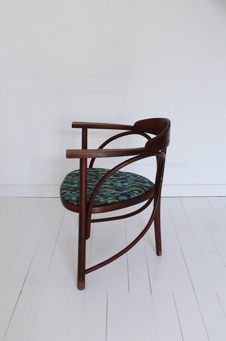 20th Century Vintage HajduThonet Desk chair No 81 Rondo 1980 Hungary For Sale