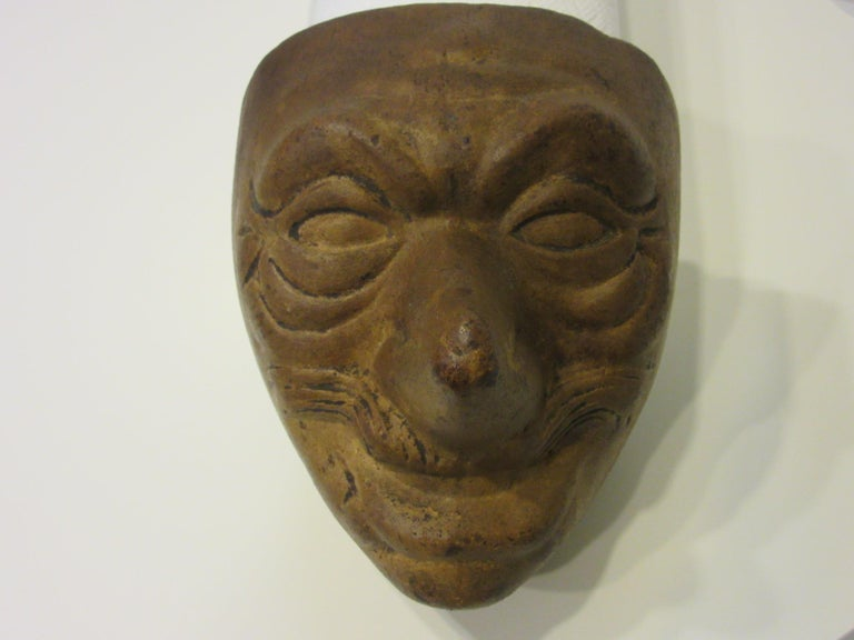 Folk Art Vintage Halloween Mask Mold by the American Mask Co. For Sale