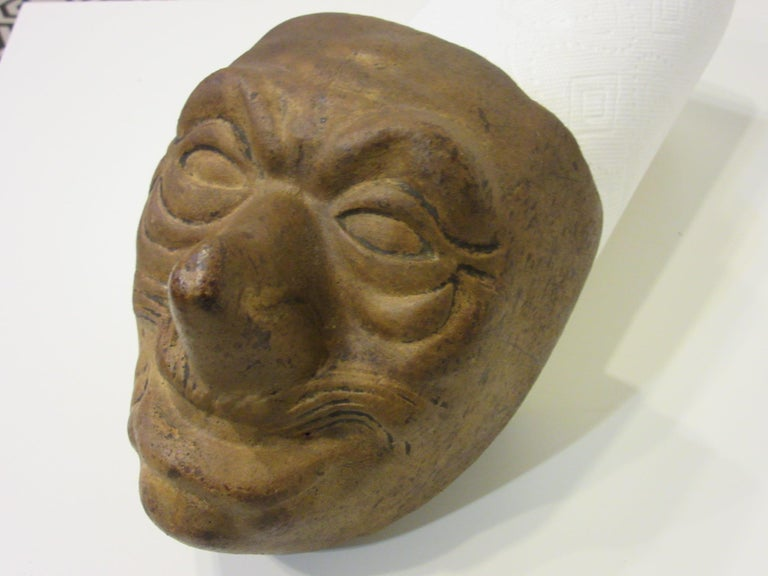 Clay Vintage Halloween Mask Mold by the American Mask Co. For Sale