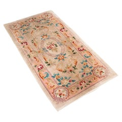 Vintage Hallway Rug, Oriental, Decorative Carpet, Late 20th Century, Circa 1970