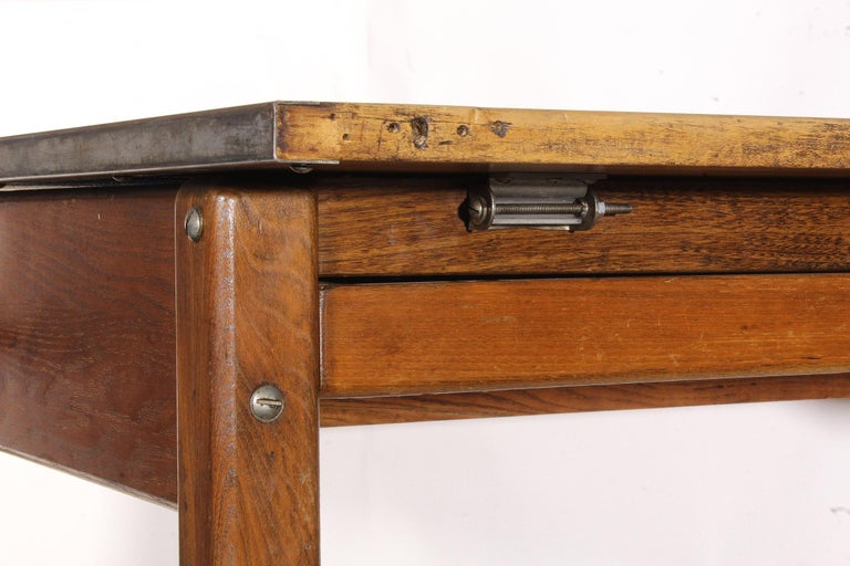 Vintage Hamilton Draftsman's Desk/Table For Sale 1