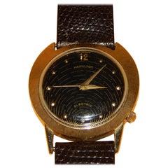 Vintage Hamilton Spectra Men's Watch in 14-Karat Gold
