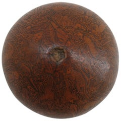 Vintage Hand Carved Gourd from South American