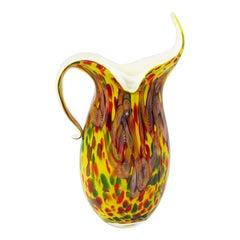 Vintage Handle Melting-Vase, Europe, Late 20th Century