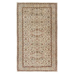 5.1x8.4 Ft Vintage Oushak Rug, Hand-knotted Wool Carpet for Home & Office Decor