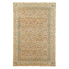 Vintage Handmade Turkish Sivas Accent Rug
