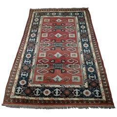 Vintage Handwoven Carpet