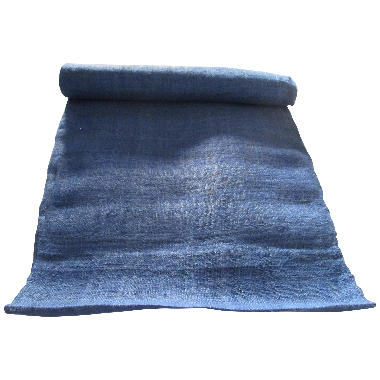 Vintage Handwoven Hemp Textile Roll
