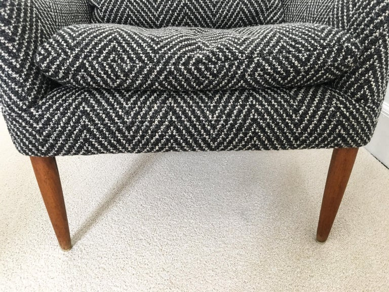 Wool Vintage Hans Olsen Model 800 Lounge Chair For Sale