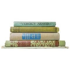 Vintage Hardcover Books, Set of 5