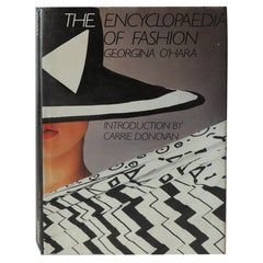 Vintage Hardcover The Encyclopaedia of Fashion by G. O'hara