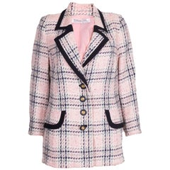 Vintage Hardy Amies Pink, Cream and Blue Jacket