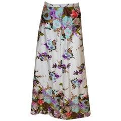 Vintage Harrods Floral Skirt