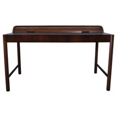 Vintage Hekman Furniture Mid-Century Modern Desk with Cylinder Roll