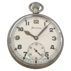 Vintage Helvetia Military Pocket Watch