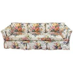 Vintage Henredon Ralph Lauren Floral Print Sofa