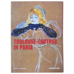 Vintage Henri Toulouse-Lautrec In Paris Book