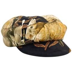 Vintage HERMES Cadet Military Sport Hat