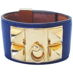 Vintage HERMÈS Collier De Chien Cuff Bracelet
