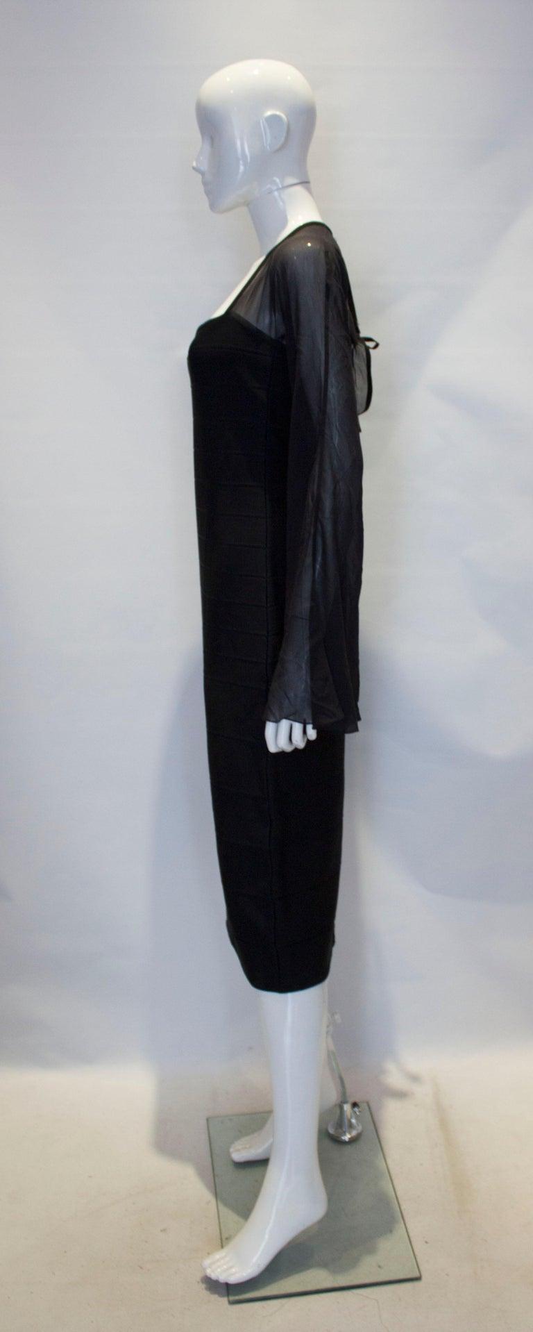 Women's Vintage Herve Leger Evening Dress For Sale