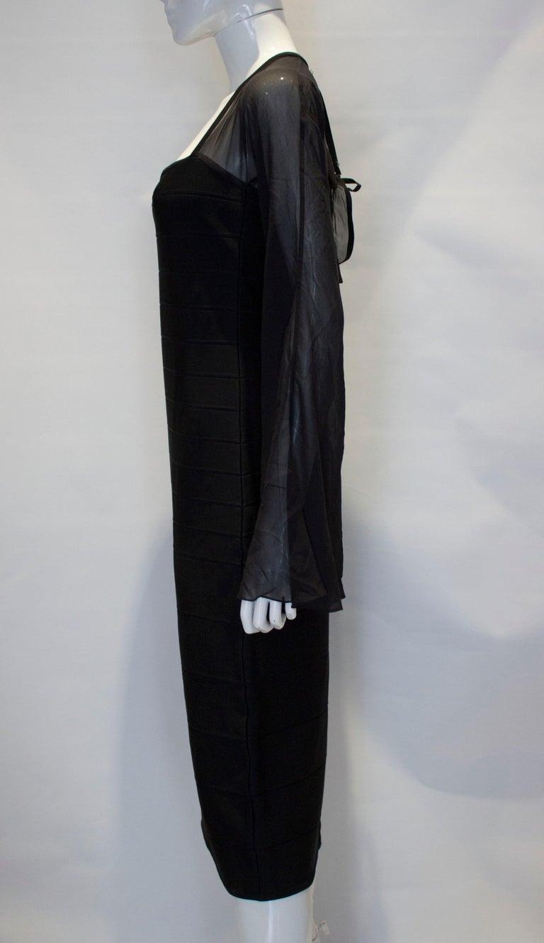 Vintage Herve Leger Evening Dress For Sale 1