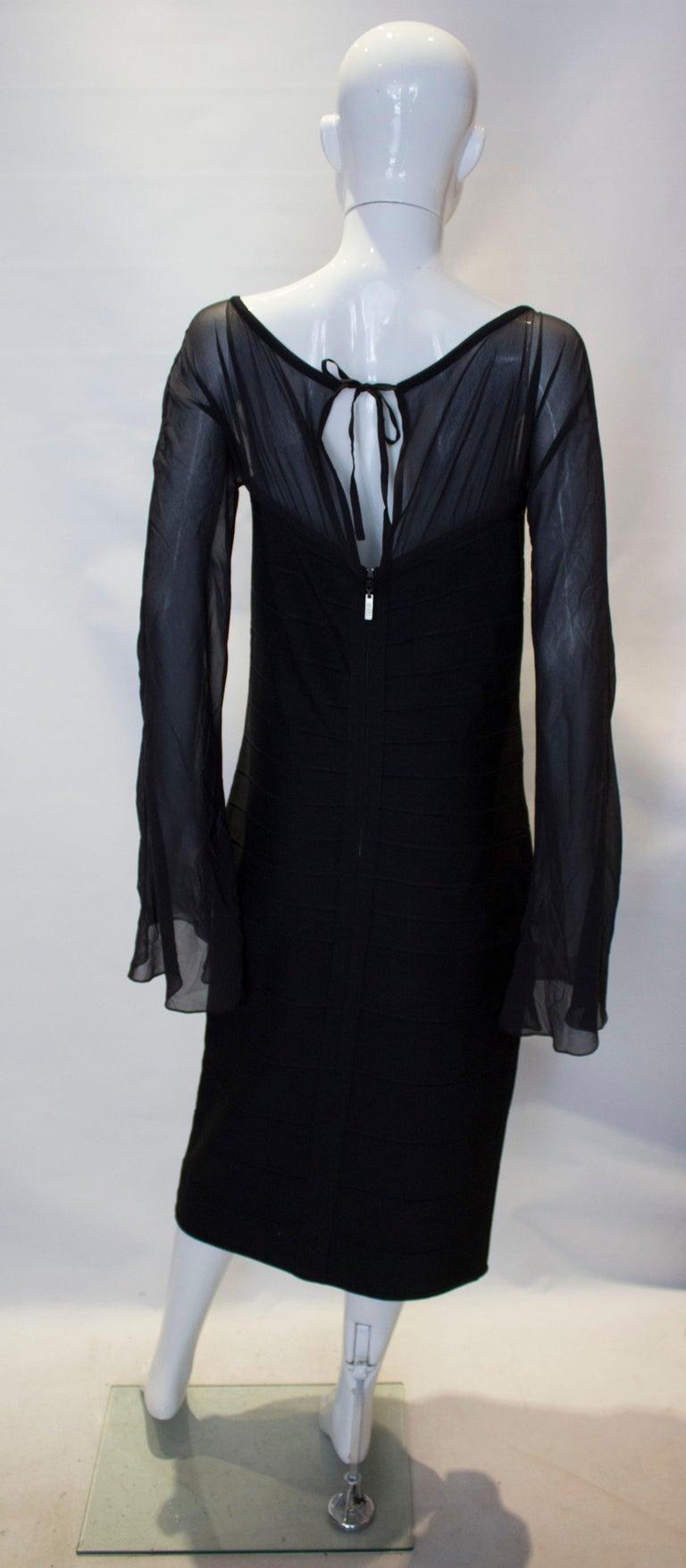 Vintage Herve Leger Evening Dress For Sale 2