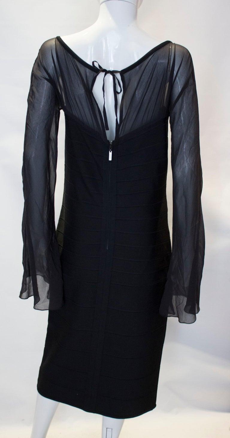 Vintage Herve Leger Evening Dress For Sale 3