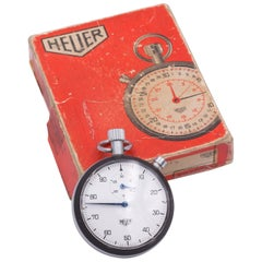Vintage Heuer Chronomether, 1970s