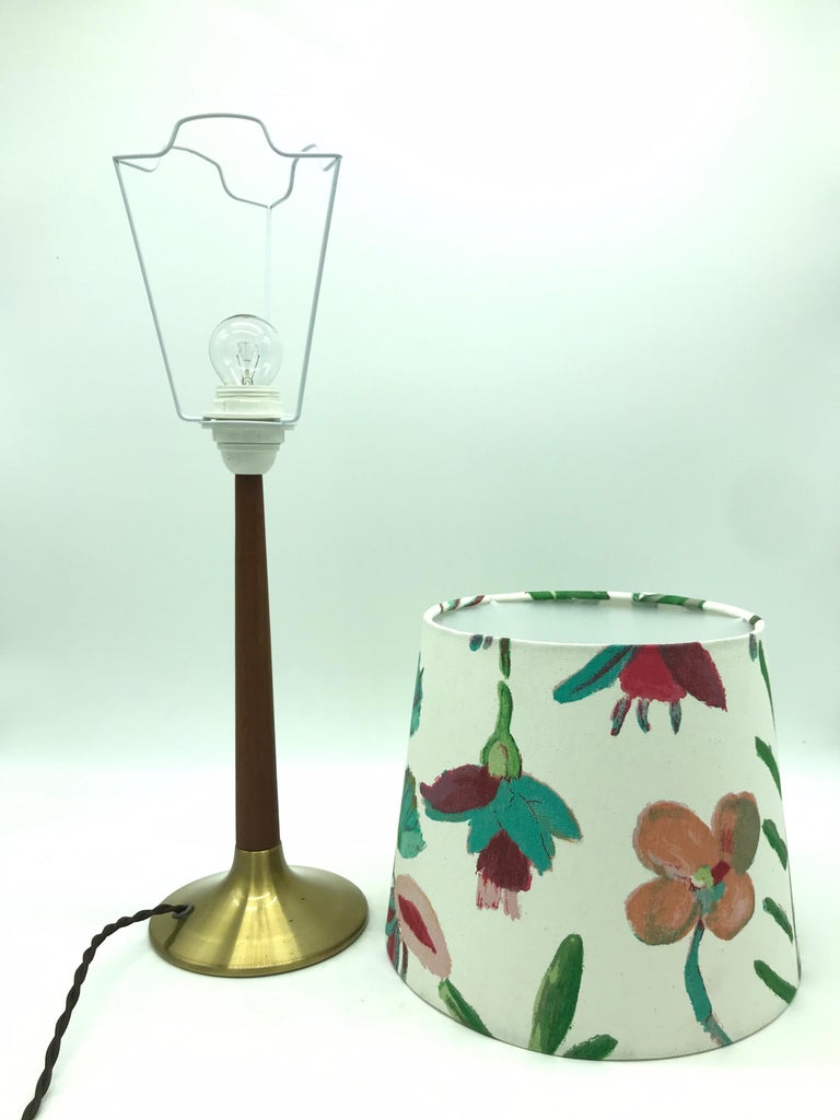 Mid-Century Modern Vintage Holm Sørensen Table Lamp from the 1950s For Sale