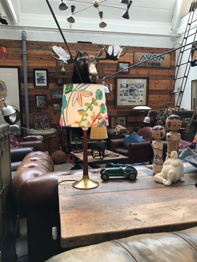 Teak Vintage Holm Sørensen Table Lamp from the 1950s For Sale