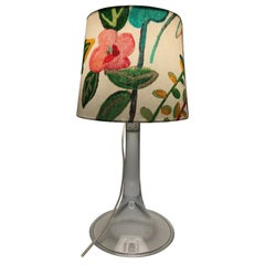 Vintage Holmegaard Table Lamp with A Limited Edition Shade From Artbymaj