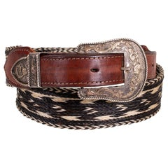 Vintage Horse Hair Belt