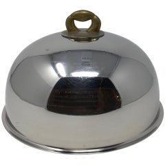 Vintage Hotel Silver Food Dome