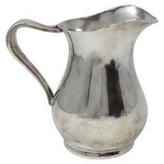 Vintage Hotel Silver Silverplate Pitcher, United States Navy