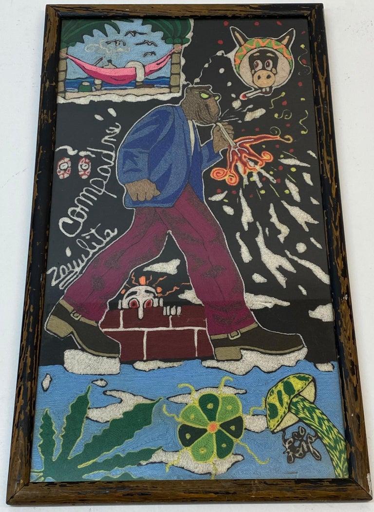 Vintage Huichol Psychedelic Nierikas