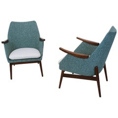 Vintage Hungarian Midcentury Cocktail Chairs, 1960s
