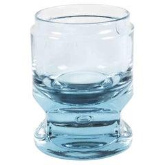"Vintage ""Ice"" Glass Vase, Italy, 1970s"