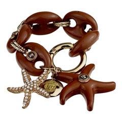 Vintage Iconic 1992 GIANNI VERSACE Medusa Starfish Bracelet