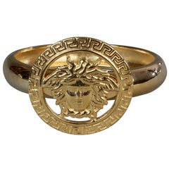 Vintage Iconic GIANNI VERSACE Medusa Bangle Bracelet