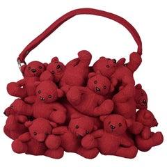 Vintage Iconic MOSCHINO Teddy Bear Whimsical Bag