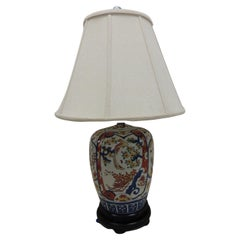 Vintage Imari Lamp from Brunschwig and Fills NY Showroom